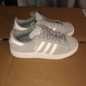 Adidas Campus Gray Suede size 6.5 gently worn